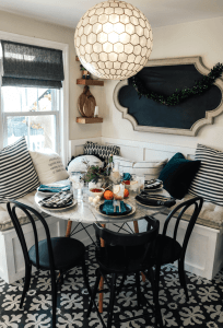 PLAY OF PATTERNS DINING ROOM DECOR IDEAS SMALL SPACE