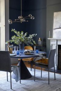 ROUND TABLE SMALL DINING ROOM DESIGN IDEAS