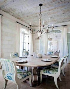 RUSTIC FARMHOUSE DINING ROOM DECOR IDEAS SMALL SPACE