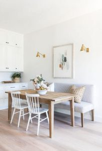 SMALL DINING ROOM MERGED INTO THE KITCHEN