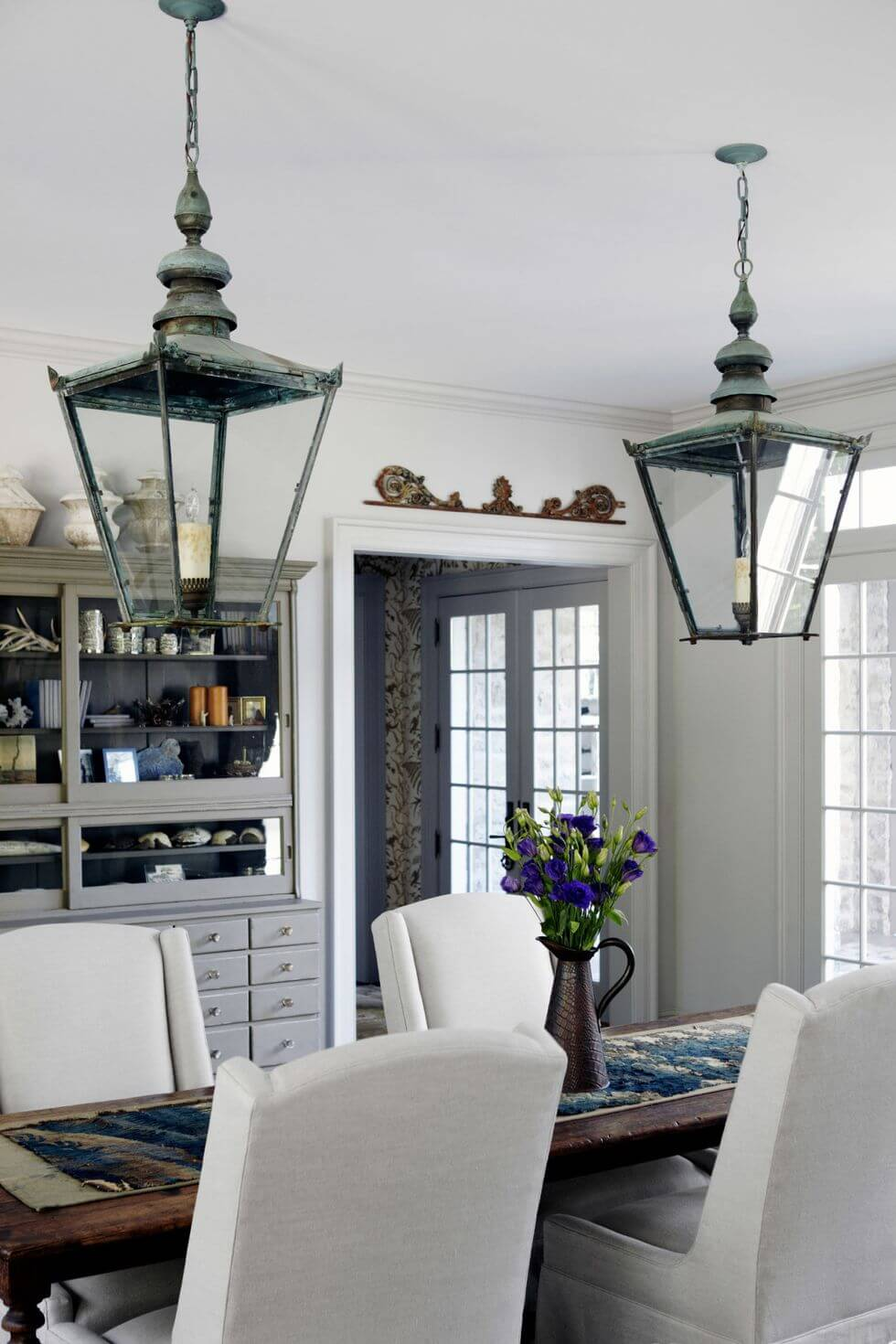 THE LANTERNS DINING ROOM LIGHTING IDEAS FOR SMALL SPACE