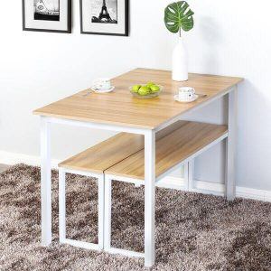 3 PIECE FOLDING DINING TABLE AND CHAIRS