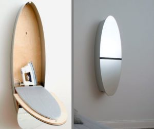 BEST PRODUCT MIRROR WITH IRONING BOARD FOR SMALL HOUSE SPACE SAVING