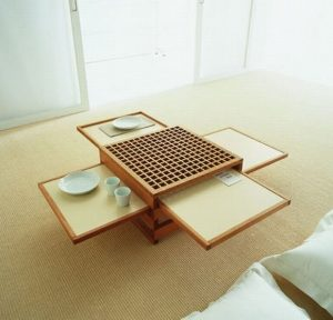 COLLAPSIBLE COFFEE DINING TABLE IDEAS SPACE SAVING