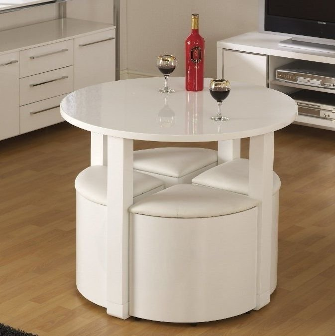 CONTEMPORARY DINING TABLE DESIGN IDEAS SPACE SAVING