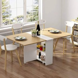 FOLDING DINING TABLE FOR SPACE SAVING