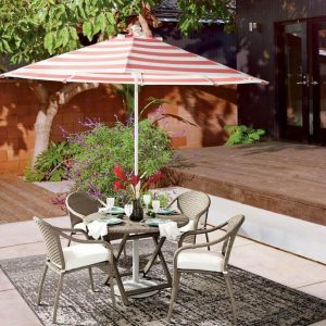 OUTDOOR DINING CAFE TABLE SET FOR SMALL SPACES