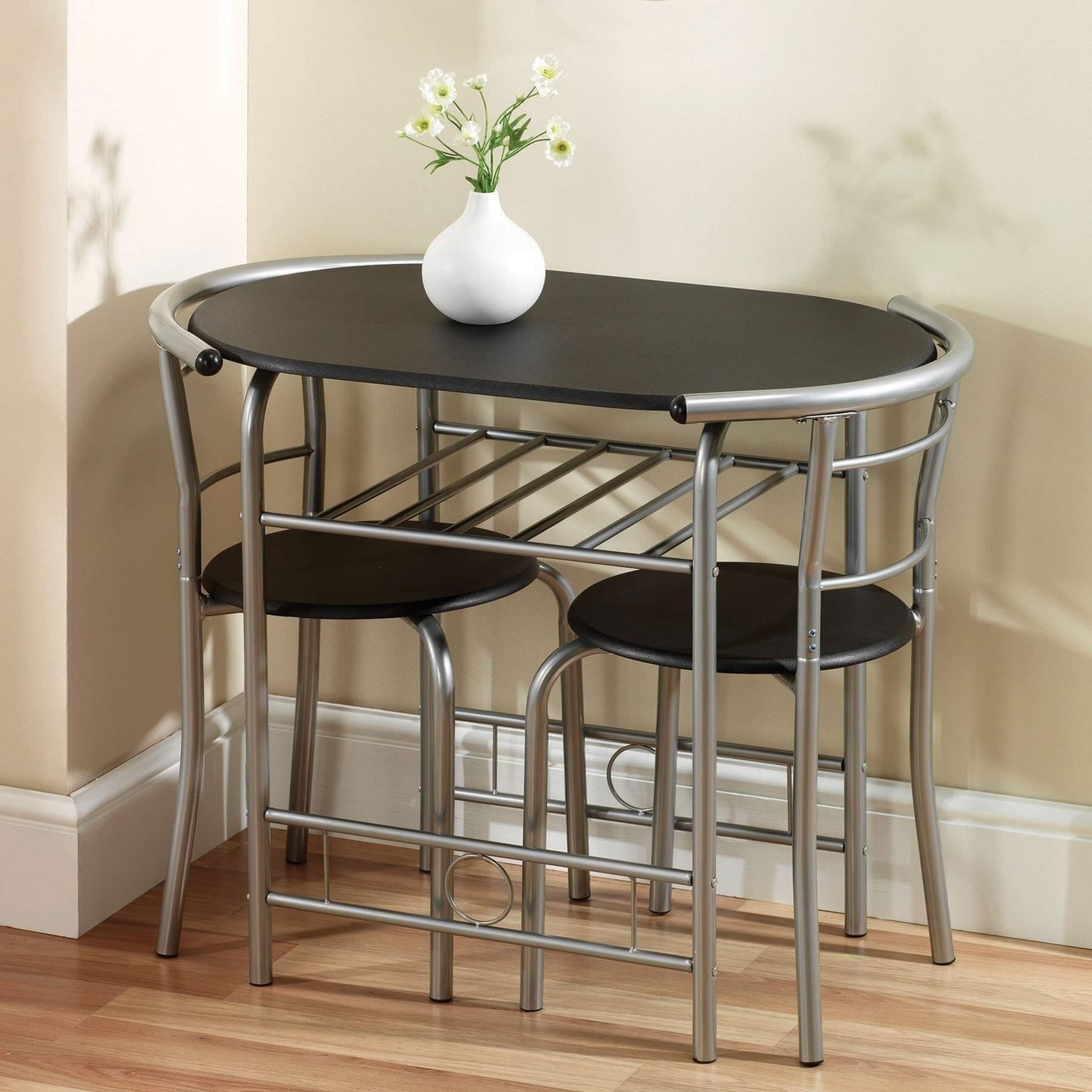 OVAL FRAME DINING TABLE SPACE SAVING