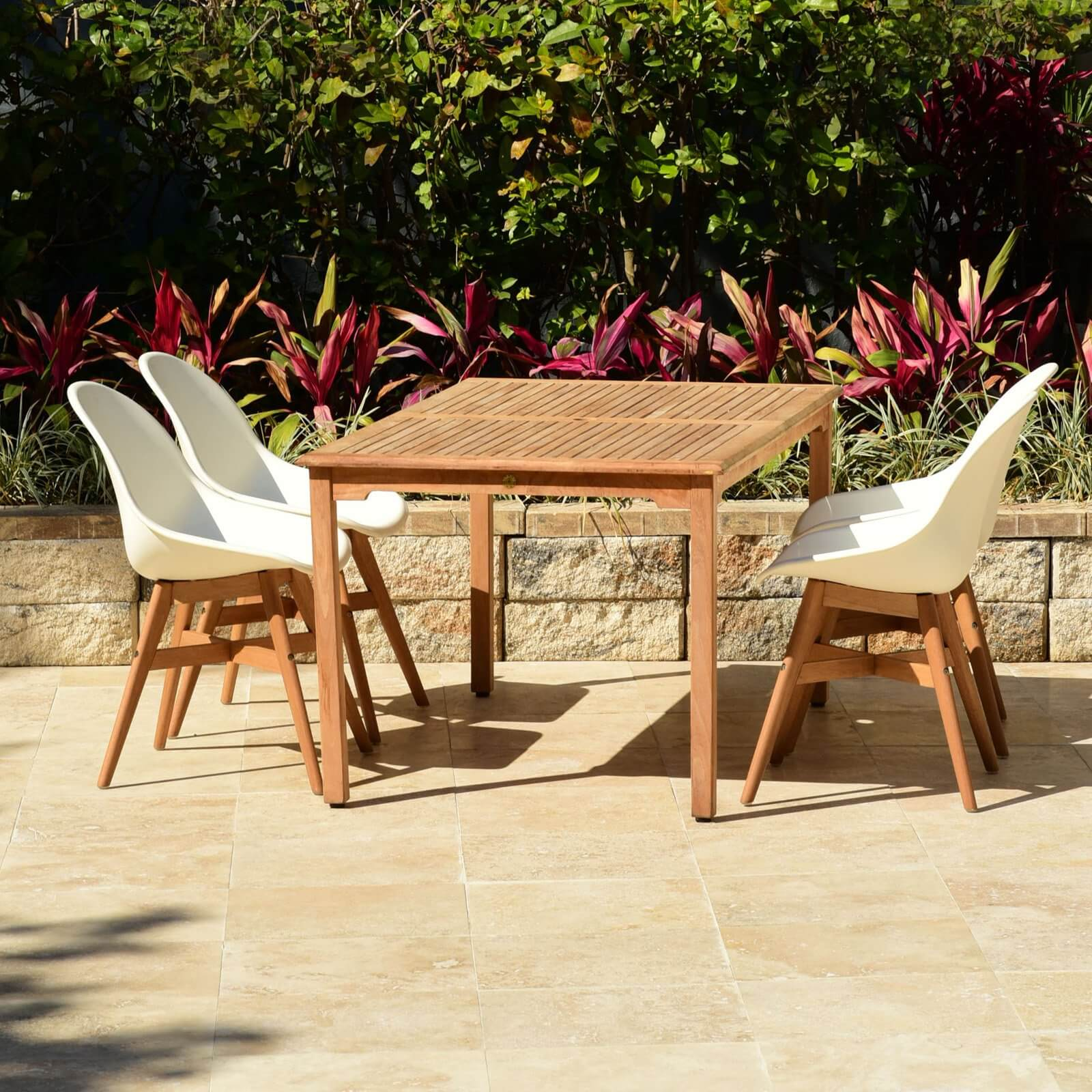 RECTANGULAR DINING SET OUTDOOR FOR SMALL SPACES