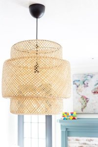 HOW TO MAKE A SMALL HOUSE FEEL BIGGER WITH UNIQUE CEILING LIGHT