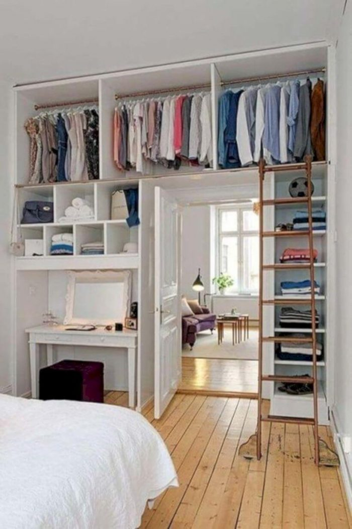 BUILT IN STORAGES FOR BEDROOM SMALL HOME OFFICE