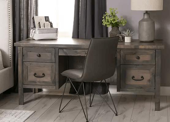 ELEGANT STYLE SMALL HOME OFFICE FURNITURE SETS