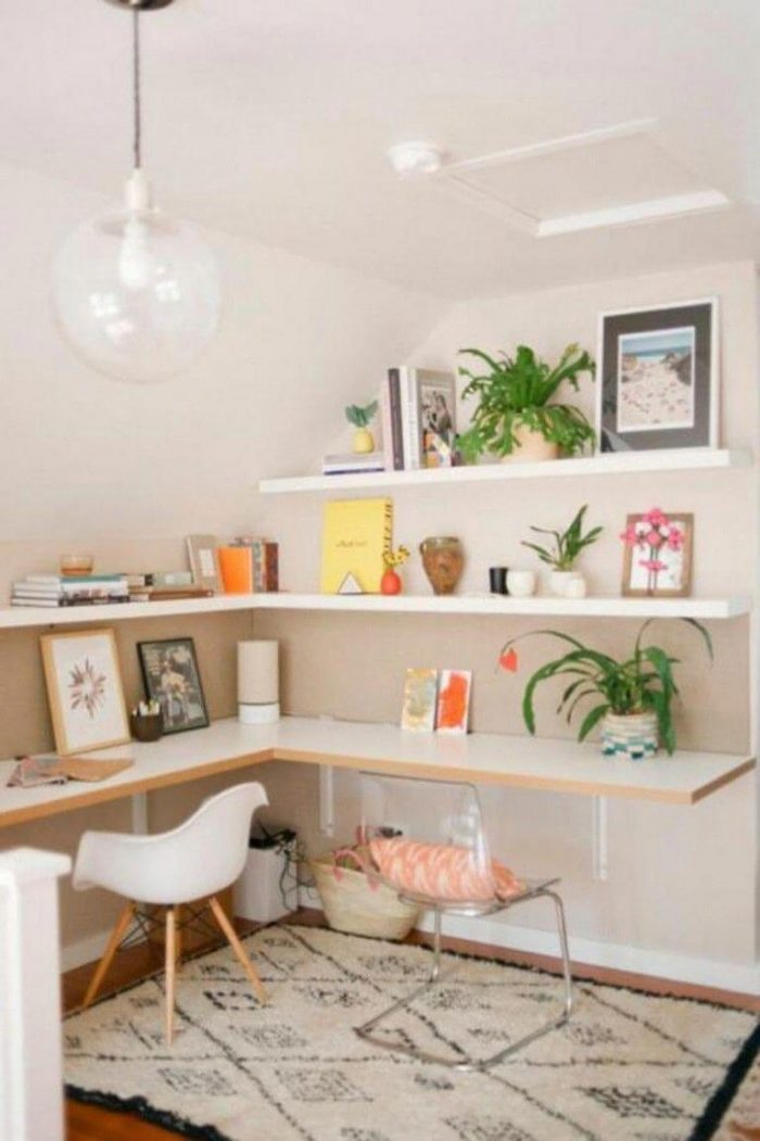 FLOATING WALL IDEAS FOR BEDROOM SMALL HOME OFFICE