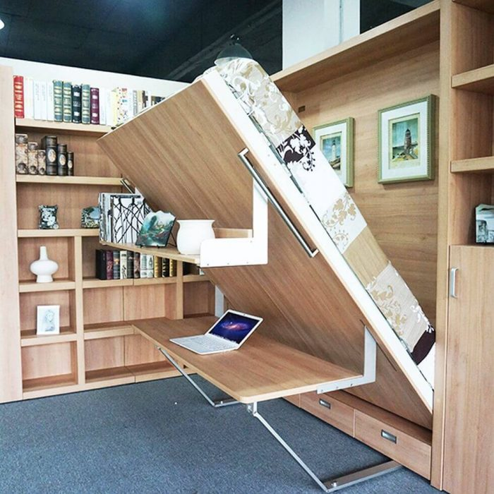 FOLD DOWN BED FOR BEDROOM SMALL HOME OFFICE