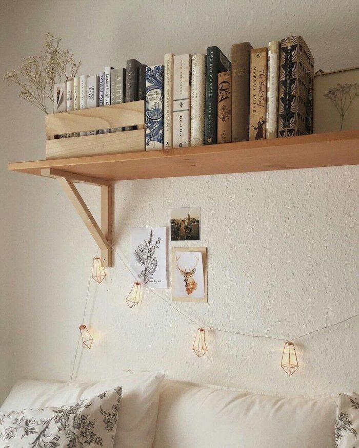 INSTALL THE CLEVER BOOKSHELF FOR BEDROOM SMALL HOME OFFICE