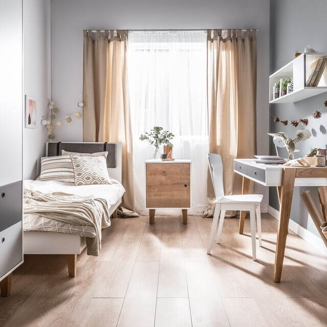 SIMPLE BEDROOM SMALL HOME OFFICE IDEAS