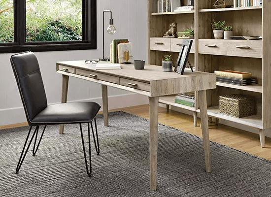 SMALL HOME OFFICE FURNITURE SETS SPACE SAVING