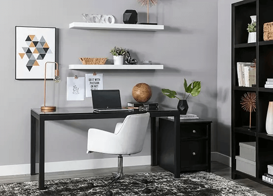UNIQUE AND CREATIVE SMALL HOME OFFICE BOLD FURNITURE SETS