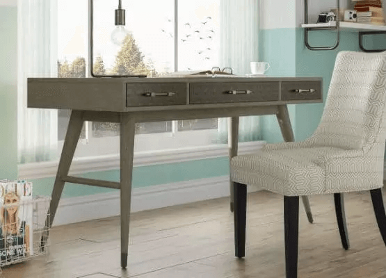 WARM COLOR PAINT AND REPAINT SMALL HOME OFFICE FURNITURE SETS