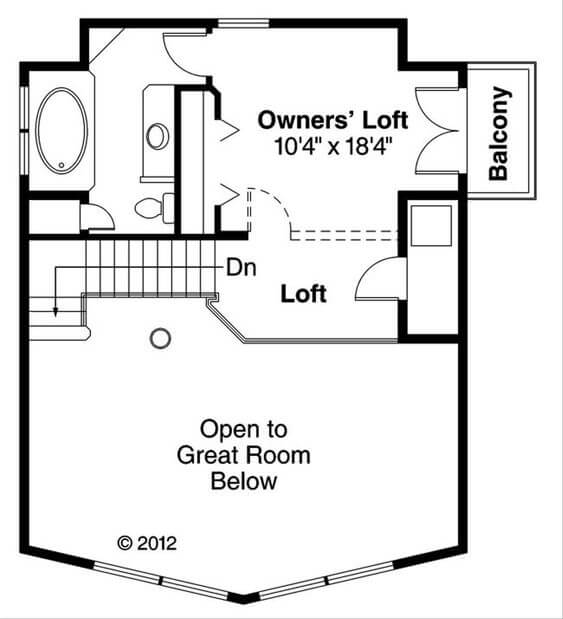 2 AND 2 SMALL HOUSE PLANS WITH LOFT AND WRAP AROUND PORCH