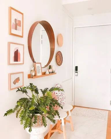 BRIGHT AND FRESH SMALL HOUSE ENTRYWAY IDEAS