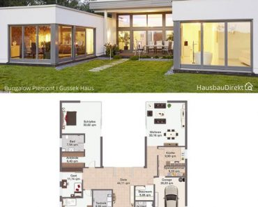 10 SMALL C SHAPED HOUSE PLANS YOU WILL FALL FOR INSTANTLY!