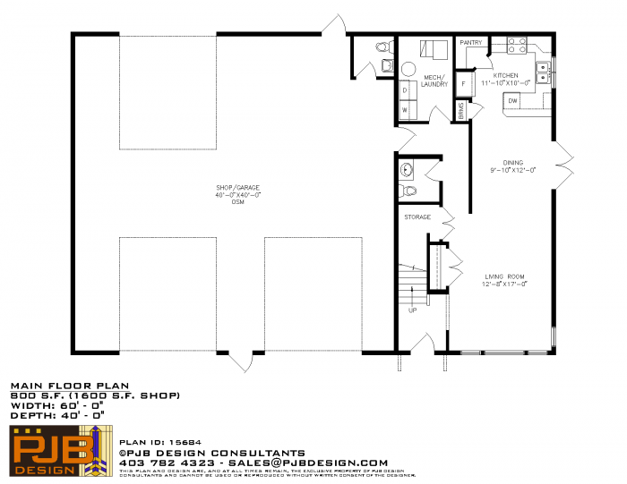 SMALL HOUSE BIG GARAGE WITH 3 DOORS PLANS