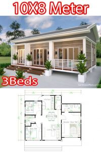 SMALL HOUSE DIMENSION OPTIONS 27x34 ft