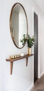 SMALL HOUSE ENTRYWAY IDEAS WITH BIG ILLUSION