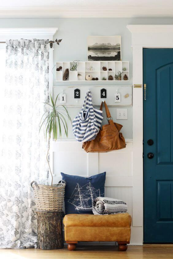 SMALL HOUSE ENTRYWAY IDEAS WITH PLACES FOR EVERYTHING