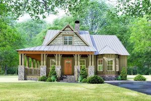 SMALL HOUSE PLANS WITH LOFT AND WRAP AROUND PORCH