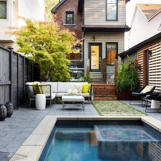 SWIMMING POOL FOR SMALL HOUSE ADDITIONS