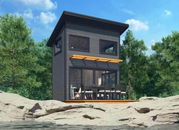 THE NOMAD SHED SMALL HOUSE KITS PREFAB